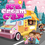 Ice Cream Car Decoration