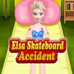 Elsa Skateboard Accident