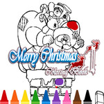 Merry Christmas Coloring Book 2