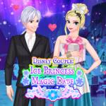 Disney Couple Ice Princess Magic Date