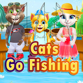 Cats Go Fishing