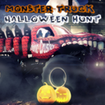 Monster Truck Halloween Hunt