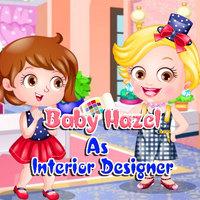 Baby Hazel As Interior Designer