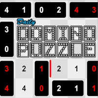 Daily Domino Puzzle,
