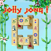 Лучшие новые игры,Jolly Jong 1 is one of the Mahjong Games that you can play on UGameZone.com for free. Test your Mahjong skills with this classic version of the popular Chinese board game. Combine 2 of the same mahjong stones to remove them from the playing field. You only can use free stones, which are not covered by another stone and at least one side of which is open. You can combine any flower tile with another. It is the same with the season tiles.