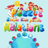 Simple Kids Puzzle Relations