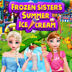 Frozen Sisters Summer Ice Cream