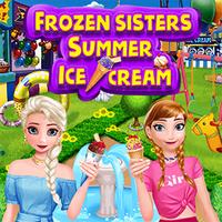 Frozen Sisters Summer Ice Cream