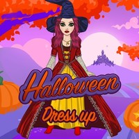 Jeux en ligne gratuits, Halloween Dress Up is one of the Dress Up Games that you can play on UGameZone.com for free. Try on spooky costumes in Halloween Dress Up! You can totally transform the beautiful gal with scary outfits and makeup. Begin by coloring her hair or selecting a wig. Then, look at frightening tops, bottoms, and hats. Dress like a witch or hellish creature of the night! Enjoy and have fun!