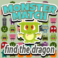 Monster Match Find The Dragon