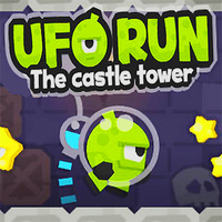 UFO Run The Castle Tower