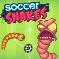 En Yeni Oyunlar,Soccer Snakes is one of the Football Games that you can play on UGameZone.com for free. In this game, you will control a snake and play a game of 1 on 1 soccer against another snake. You must use your snake's body to try to score a goal against your opponent, whoever finishes the game with the most goals wins the match. Using the snake is a little more difficult then you could imagine; line up your snake's head with the ball to move it into the desired position. Block your opponent's snake by using your snake's long trail as they cannot go through you. Have fun and see if you can be the best soccer snake around!