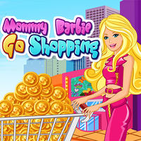 Mommy Barbie Go Shopping