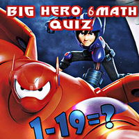 Big Hero 6 Math Quiz