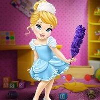 Baby Cinderella House Cleaning
