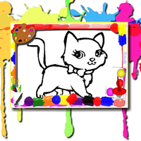 Best New Giochi,Sweet Cats Coloring is one of the Coloring Games that you can play on UGameZone.com for free.  In this coloring book that belongs to you, you can create your own color world. Choose any image you want to paint to fill it, then use the brush to choose the color you like. I believe that you can make a colorful and perfect painting. Enjoy and have fun!