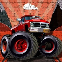Crazy Monster Trucks Puzzle