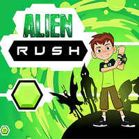 Trendy gier,Ben 10 Alien Rush is one of the Shooting Games that you can play on UGameZone.com for free. Planet Earth is being overrun by intergalactic monsters and only Ben with the help of his alien companions can stop them. With the help of Ben 10's Omnitrix transform into Heatblast, Stinkfly, and Overflow and blast the monsters into outer space! Enjoy and have fun!