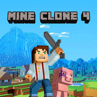 Popularne darmowe gry,Mine Clone 4 is one of the Minecraft Games that you can play on UGameZone.com for free. Do you like Minecraft? In this game, you can choose game mode as you want to play, you can build yourself a world or fight with the enemies, when the night falls down, these zombies will become your nightmare, use your imagination to rearrange the world! Have fun!