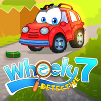 Permainan Baru Terbaik,Wheely 7 is one of the Wheely Games that you can play on UGameZone.com for free.  In Wheely 7, Wheely sets out as detective to solve a mystery of a robbery. Search for hidden clues and find the thieves!  Enjoy and have fun!