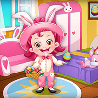 Baby Hazel Easter Dress Up