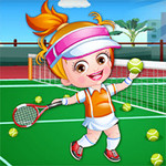 Baby Hazel Tennis Player Dress Up