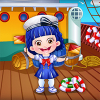 Baby Hazel Sailor Dress Up