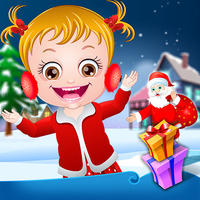 Popular Free Games,You can play Baby Hazel Christmas Surprise on UGameZone.com for free.  Christmas time is here again! Baby Hazel and friends are eagerly waiting for Santa Claus to come and give them presents. Santa has brought gifts for all the kids in his magical toy bag. Oh no! But Hazel's gift is missing. Santa has lost Hazel's gift somewhere in the North Pole. Let's join Santa and kids to enjoy a sleigh ride to the snow-clad North Pole and help them to find Hazel's lost gift.