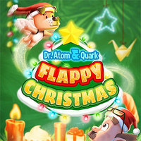 Permainan Percuma Populer,Dr. Atom & Quark Flappy Christmas is one of the Tap Games that you can play on UGameZone.com for free. We wish you a flappy Christmas, we wish you a flappy Christmas, we wish you a flappy Christmas and a happy new year. Dr.Atom and his dog Quark are back. Can you fly between the Christmas decorations? Let's see how far you can go.