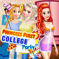 Populaire Jeux,Princess First College Party is one of the Princess Games that you can play on UGameZone.com for free. Yay! Ariel, Elsa, and Rapunzel are going to the same college! No wonder they're so happy. But as newcomers, they have a lot to do. What will be the first task? To unpack all the stuff, of course. Looks like Ariel and Elsa are going to share their dorm room! No way! It's going to be super fun! After you'll finish this part you'll get a surprise. Rapunzel is here to invite you to your first college party ever! Check all the outfits they have at their fashion wardrobe to create a stylish look. Have fun!